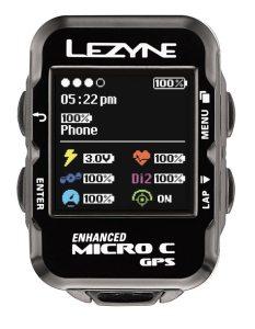 lezyne enhanced color micro gps