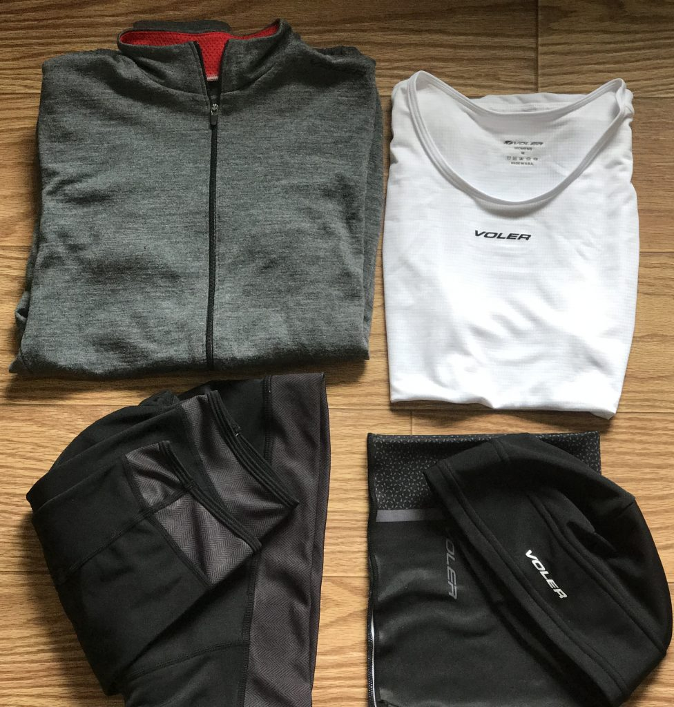 voler cold weather jersey cycling kit