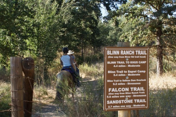 Update on the Santa Margarita Lake Horse Camp at River Road | SLO Horse News