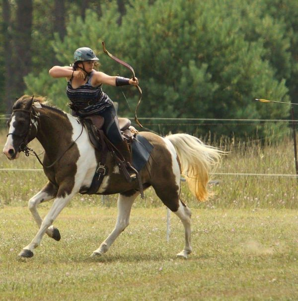 Release Your Inner Warrior : Mounted Archery Clinic | SLO Horse News