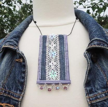 Mona Lindström halsband jeansbling