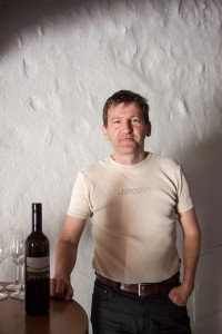 Slovenian wine seller Robert Gorjak. Photo by JOHANNA DERRY