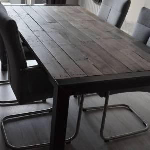 Eiken sloophout tafelblad