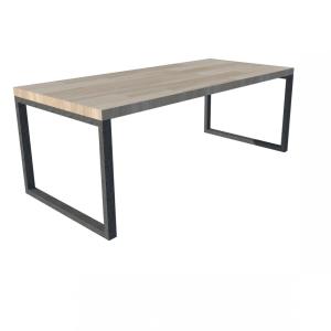 O-Frame stalen frame houten blad