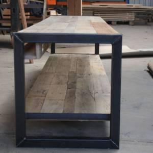 Tv meubel eiken sloophout