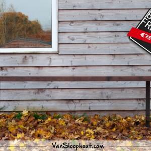 Industriele Tafel Sloophout.Industriele Burnt Oak Tafel Met Hongaarse Punt Design