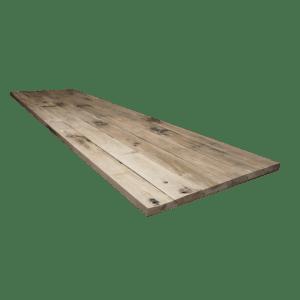 3.10 Oude wagondelen tafelbladen