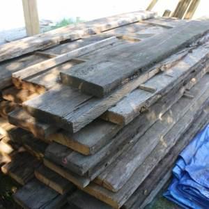 3.5 Amerikaanse Barnwood planken per m2