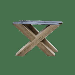 Houten X-frame