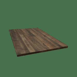 8. Mango hout look tafelblad