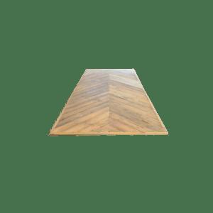 4.2 Hongaarse punt sloophout tafelblad
