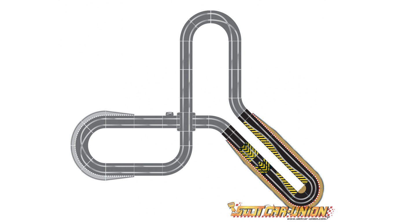 Scalextric C Track Extension Pack Ultimate