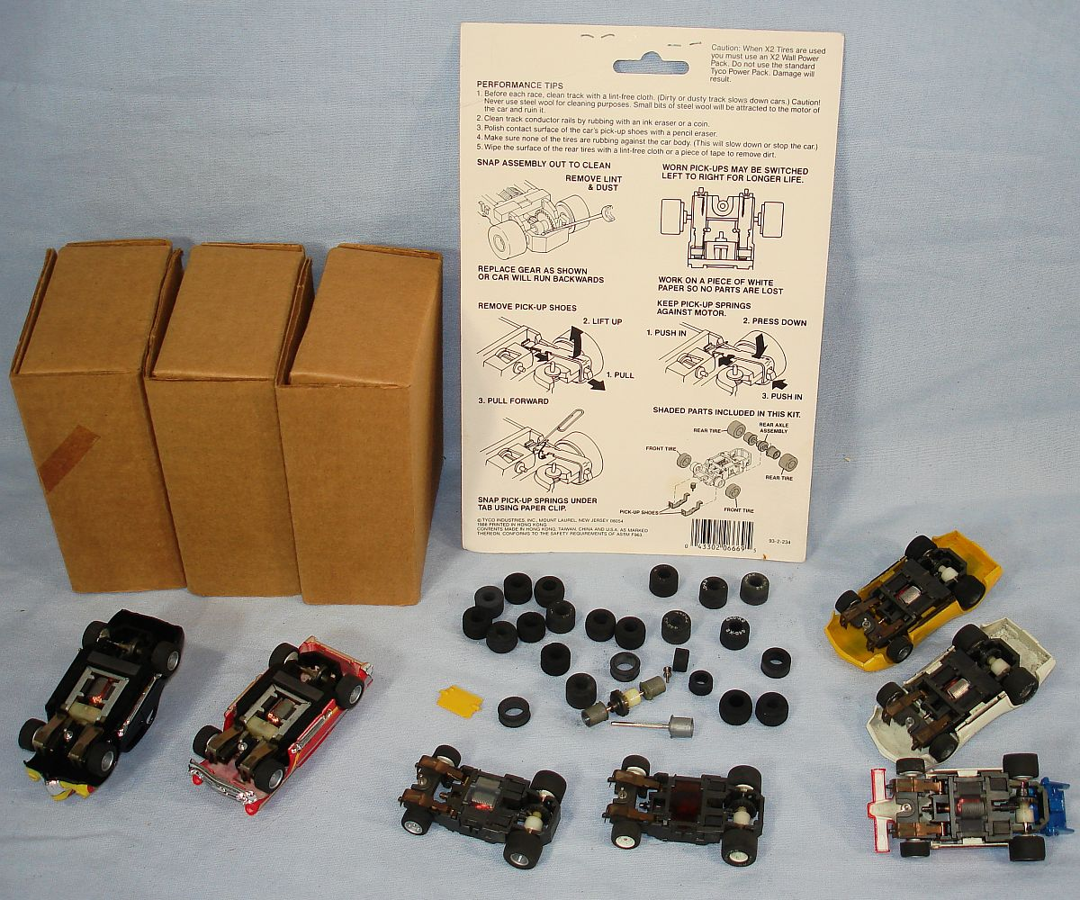 Tyco Magnum 440 X2 Slot Car Racing Bo S Chassis Mailer