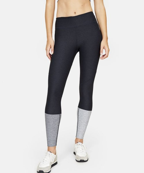 5b11bbf7811a6 ... Kind Ombre Spring Leggings. Outdoor Voices Dipped Warmup Leggings in  Charcoal/Graphite/Ash
