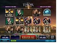 grafica slot thor