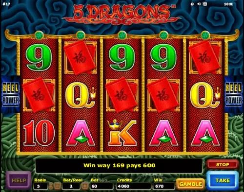 5 Dragons Slot Machine | Aristocrat Slots Online