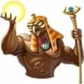 Egyptian heroes Amom