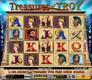 Treasures of Troy reels