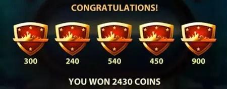 Silent Run slot bonus win
