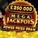 €250,000 giveaway on Mega jackpots slots