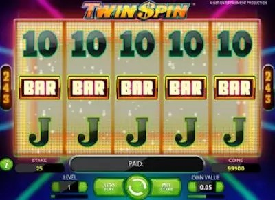 5 way Twin Spin win