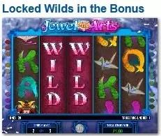 Jewel of the Arts sticky wilds