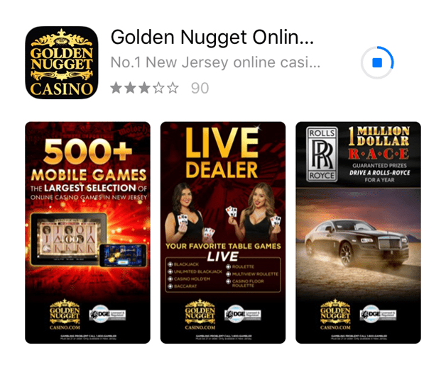 How to make a deposit at Golden Nugget Casino