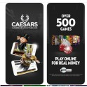 How to play at Caesars Casino online with Android mobile?