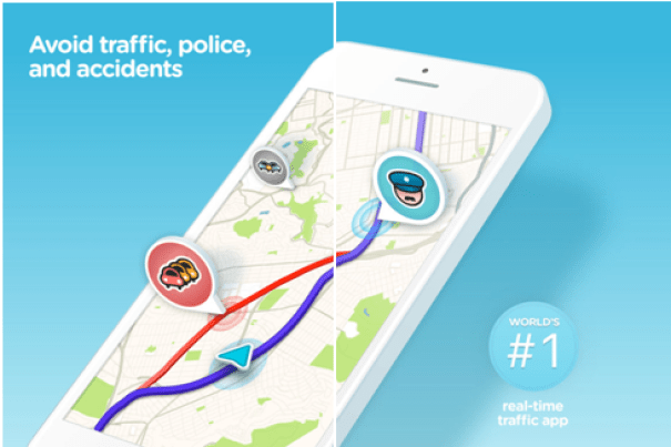 Waze app – Know the best route and record your voice directions