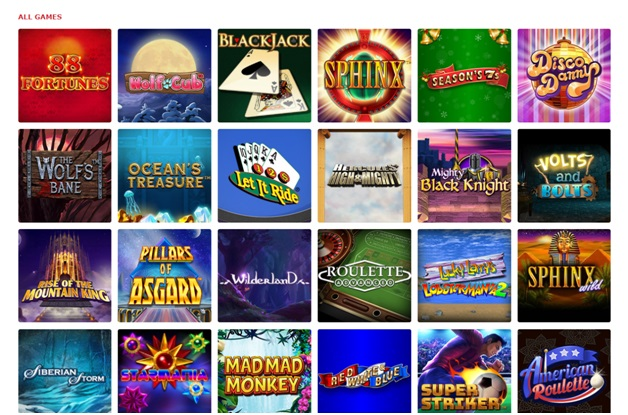 BetMGM Online casino Games to play