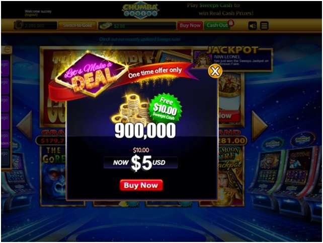 Chumba Casino Free bonus