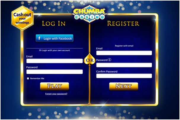 Chumba Casino How to get started