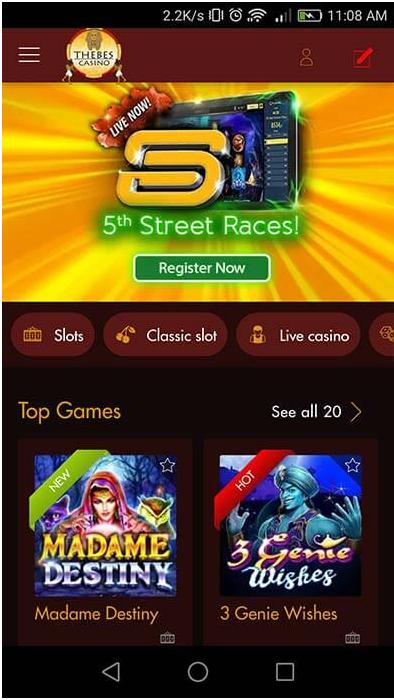 iPhone casinos - Slot races
