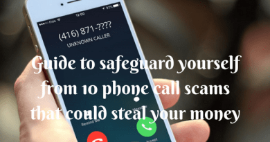 Guide to safeguard yourself from 10 phone call scams that could steal your money