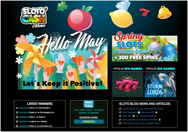 Daily Promos at Slotocash online casino