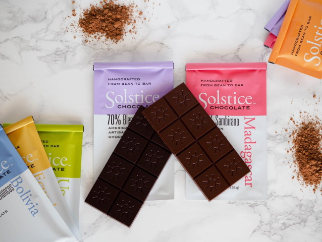 Solstice Chocolate, Salt Lake City, Utah, and other locations