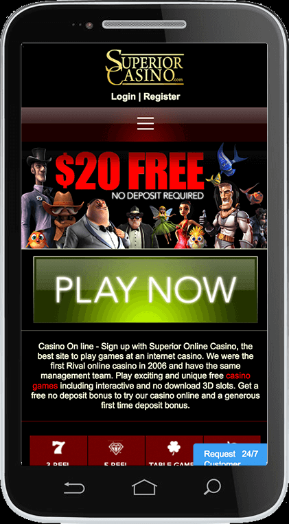 How to get started at Superior Casino with your iPhone?