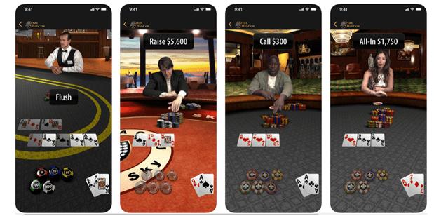 Texas Holdem poker free app