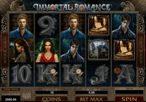 Immortal Romance Slot