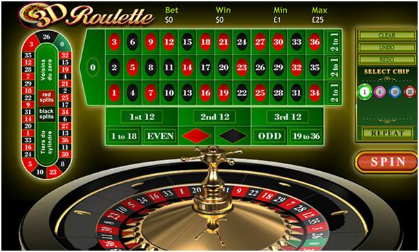 3 D Roulette