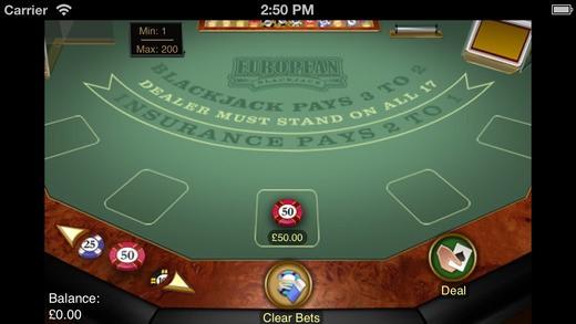 Jackpot casino table games