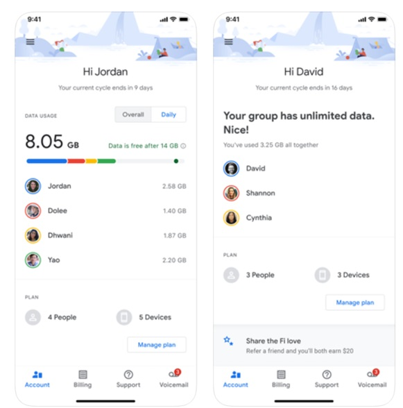 Activate Google Fi on iPhone
