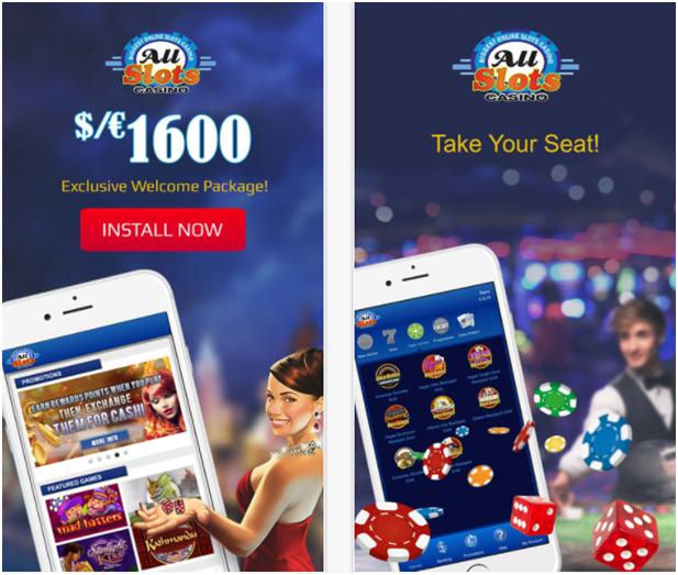 All Slots Casino Canada- iPhone Casino