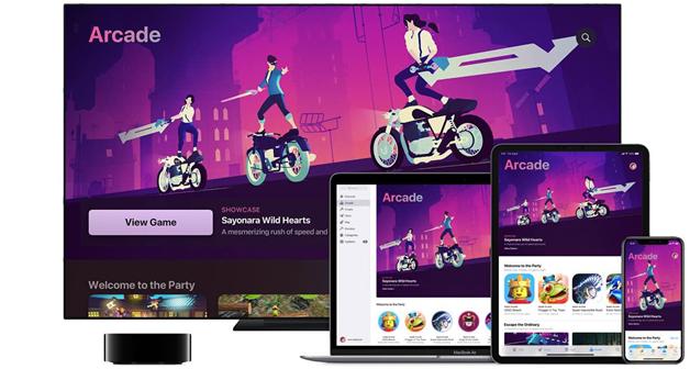 Apple Arcade app