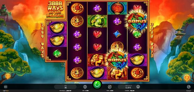 3888 Ways of The Dragon Slot Machine 1