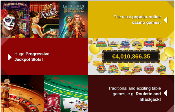 Casino Action Canada Slots games