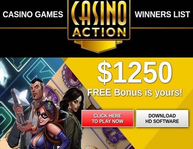 Casino action Canada