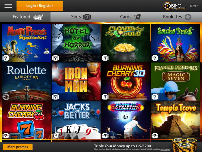 Casino.com – Real money betting App -5 Best Mobile Betting Apps