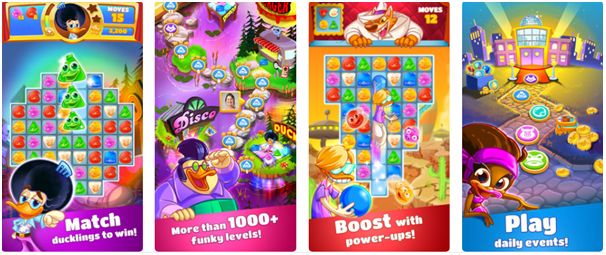 Disco ducks game app