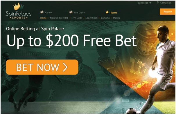 Spin Palace online Casino Canada for Esports betting with your Iphone